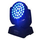 6 RGBW LED Disco-Summen-Wäsche-bewegliches Hauptlicht für Stadium