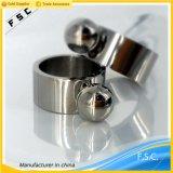 Unisex-Ring van de Vinger van het Ontwerp van de Juwelen van het Roestvrij staal van de manier de Speciale