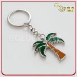 Qualitätspolierinner-Form-weiches Decklack-Metall Keychain