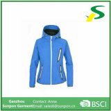 Chaqueta impermeable al aire libre para mujer Softshell