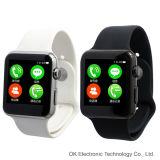 Relojes impermeables del nuevo 2do de Iwo del 1:1 Mtk2502c monitor del ritmo cardíaco para el IOS del teléfono y Smartphones androide
