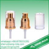 Heißes Plastikgoldaluminiumhandsahne-Pumpen-Zufuhr des Verkaufs-2017 mit flacher Schutzkappe
