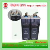 발전기 세트를 위한 Hengming NiCd 건전지 Gnc170 1.2V 170ah Kpx 시리즈 또는 매우 고가 또는 알칼리성 재충전 전지 및 소결된 격판덮개 건전지