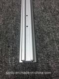 Precisie 6063 die de Uitdrijving CNC van het Aluminium de Matte het Anodiseren Zilveren Pijp van de Legering machinaal bewerken
