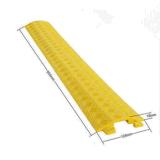 屋内オフィスRubber/PVCケーブルカバー
