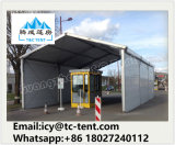 20X80m Estructura de aluminio de almacenamiento Almacén Tienda de campaña grande con pared sólida