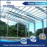 Подгоняйте структуру Prefab гаража автомобиля дома стальную для сбывания