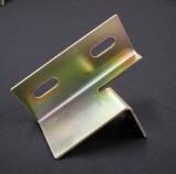 Messingmetallbefestigungsteile angepasst, das Verbiegen tiefziehend, lochende Teile stempelnd