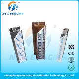 Films protecteurs de PVC de qualité pour des profils d'aluminium de porte et de guichet