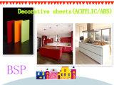 食器棚のための多彩なPMMA/ABSのパネルを形作る放出の真空