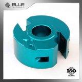 Kundenspezifische Qualitäts-Aluminiumschutzkappe durch die maschinelle Bearbeitung