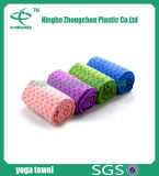 Gleitschutzpolyester Microfiber Yoga-Matten-Tuch 100%