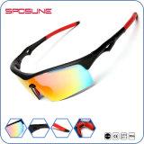Les lunettes de soleil de sport polarisées par vente en gros pêchant la coutume de recyclage de Glasse folâtrent des lunettes de soleil
