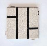 Placage de panneaux en aluminium de pierre Décoration de mur rideau pour la construction de la pulvérisation de façade avec l'eau-dans-processus de l'eau