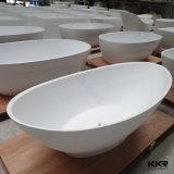 Tina caliente del diseño de la piedra libre superficial sólida italiana de la bañera