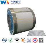 Folhas de metal corrugadas da China Factory / aço revestido a cor revestida