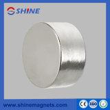 Цилиндр D40X20 магнита неодимия, D45X25, D50X20, D50X30, D55X25, D60X30, никель D70X40 N35/N38/N40/N45 для метра