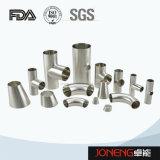 Tipo sanitario 90d dell'acciaio inossidabile il breve ha saldato la curvatura (JN-FT1010)