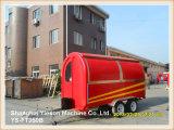 Crême glacée Van de remorque de crême glacée d'acier de Ys-FT350b 3.5m avec 4 Windows