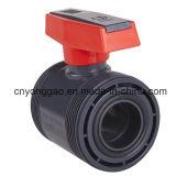 Vera valvola a sfera del sindacato del PVC per il rifornimento idrico di pressione
