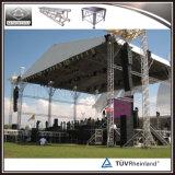 Braguero de aluminio de la azotea del braguero de la iluminación del braguero de la etapa para los acontecimientos al aire libre