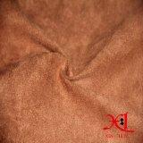 Tecido de camurça de veludo para sofá, sapatos, têxteis