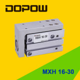 Dopow Mxhのコンパクトな空気のスライドシリンダー