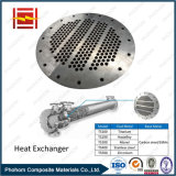 Placa de tubos bimetálico para Intercambiador de Calor de Hex