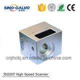Горячий продавая гальванометр блока развертки лазера Jd2207 волокна для модуля развертки Barcode