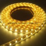 indicatore luminoso di striscia flessibile giallo di 12V-24V 30LEDs/M SMD5050 LED