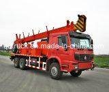 200mの掘削装置のトラック、トラックは掘削装置を取付けた