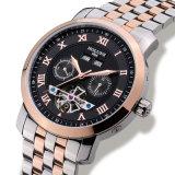 贅沢な人の腕時計のTourbillonの男性防水日付週のステンレス鋼の自動機械腕時計Relogio
