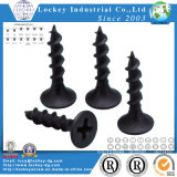 Gypsum Screw Bugle Head Philips Fine Thread Black Phosphate (LJ141208002)