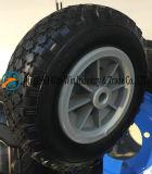 8*2.50-4 PU 바퀴, 고무 바퀴, 바퀴는 나일론 바퀴를 분해한다