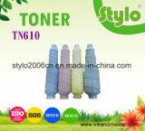 Cartucho de tóner de alta calidad 610 Tn de Konica Minolta tóner C6500