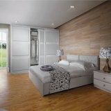 Modern Ontwerp 3 de Garderobe van de Melamine van Schuifdeuren voor het Meubilair van het Huis