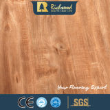 Commercial 12.3mm E0 AC4 Embossed Maple Laminate Floor