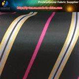衣服(S004.008)のために染まるヤーンのタフタの縞の織物のライニング