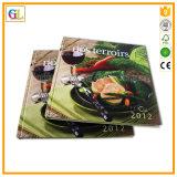 Libro di Hardcover del cuoco della stampa di stampa del libro del cuoco