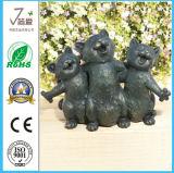 Polyresin Animal Dog Escultura Casa y Jardín Decoraiton (JN3)
