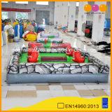 Nouvelle conception de l'extérieur Sport gonflable gonflable Crocodile affamés de jeu pour la vente (AQ16263-1)