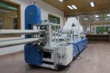 Automatismo plenamente servilleta de estampación de doble hilera de máquina de plegado de papel