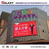 Una instalación rápida al aire libre a todo color HD4/P6.67 P/P8, pantalla LED fijo para publicidad