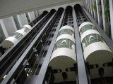 elevador panorámico de cristal de 800kg~1000kg, a la vista y al aire libre