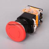 interruttore di pulsante del fungo di serie di 22mm La118m