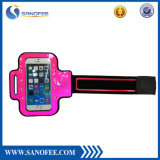Outdoor Running Jogging Single Buckle Novle LED braçadeira para telefone