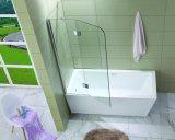 Pantalla plegable aprobada australiana de la bañera del pivote del vidrio Tempered de China (W3)