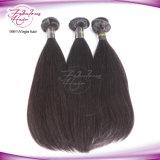 Da fábrica direta do cabelo do OEM cabelo reto humano peruano
