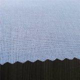100% scrivere tra riga e riga fusibile tessuto poliestere per gli sport Cap&Trousers e la maglietta