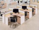Het houten MDF Werkstation van het Personeel van de Bediende van de Cluster van de Verdeling van het Bureau (HX- NCD087)